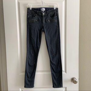 PAIGE Indio Zip Size 27 Denim Blue Jeans